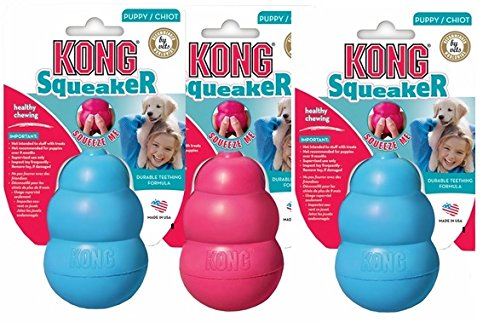 Kong Training ((3 Pack) Kong Small Puppy Kongs)