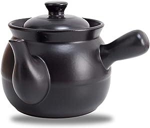 LIUSHI Clay Pots Clay Pot - Casserole Stew Pot Boil Chinese Medicine Medicine Pot Household Gas Cooker Decoction Pot-2.0L