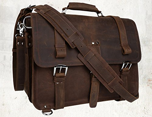 Zainetto Insun Deep Horse Leather Uomo Crazy A Borsa Brown rq1IErw