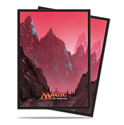 160 Mountain Deck Protectors Sleeves MTG Unhinged Art Red [2-Pack Bundle] by Ultra Pro