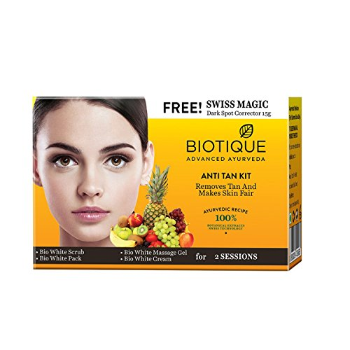 Biotique Anti Tan Kit for Removes Tan And Makes Skin Fair