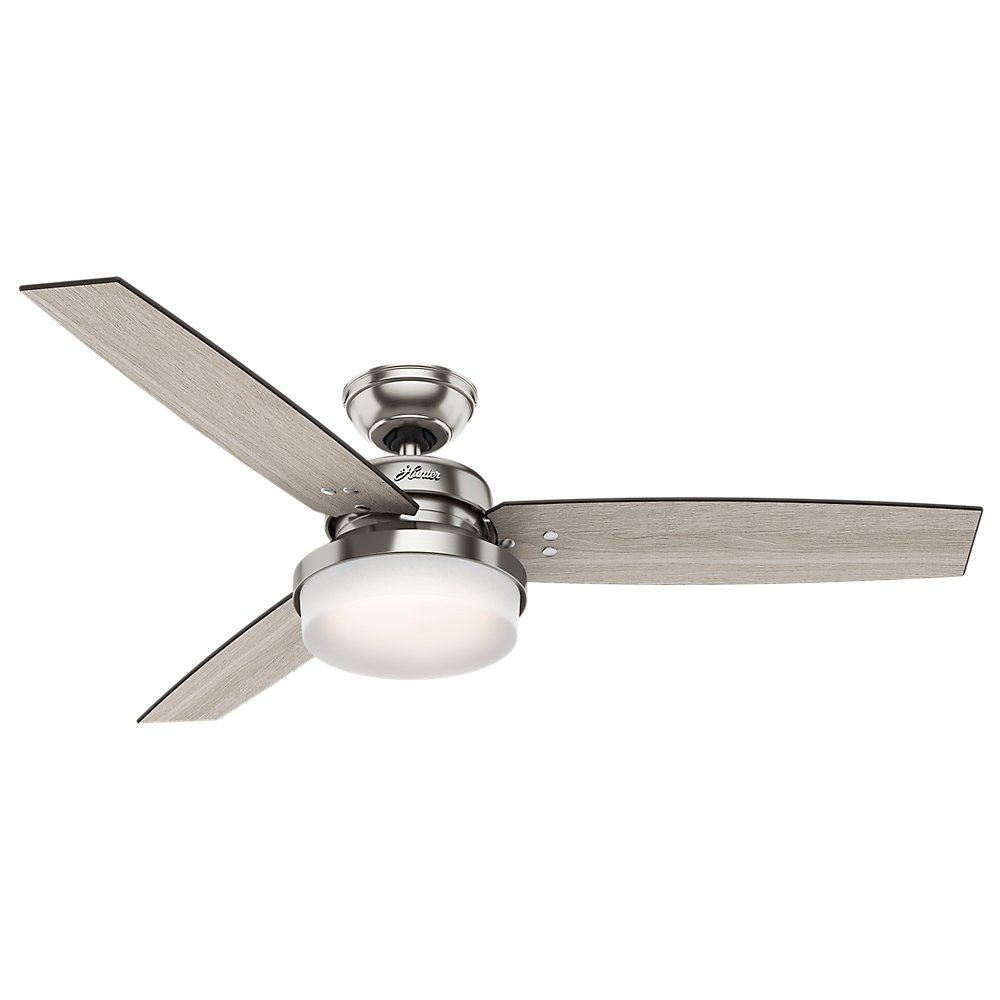shade contemporary fashionable silver with dlrn fan design light ceiling