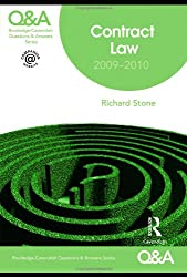Q&A Contract Law 2009-2010 (Questions and Answers)