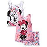 3 Piece Minnie Mouse Short Set, Pink, 6