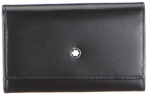 Montblanc Meisterstuck Key Case for 6 Keys - Black Leather - 7161 by MONTBLANC