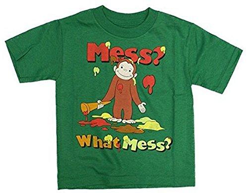 Curious George Peek-A-Boo Toddler T-Shirt Green 2T