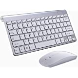 iBod Wireless Keyboard Mouse Keyboard and Mouse Combo Wireless Keyboard with Mini USB 2.4GHz Dongle Keyboard Mouse…