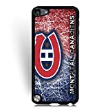 Ipod Touch 5th Case Montreal Canadiens NHL Logo PhotoProtective Phone Case , Ipod Touch 5th Case for Woman - Back Cover