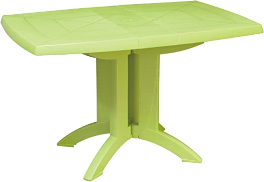 GROSFILLEX 666421 Table Pliante Vega Vert anis: Amazon.fr ...
