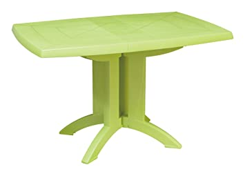 GROSFILLEX 666421 Table Pliante Vega Vert anis: Amazon.fr: Jardin