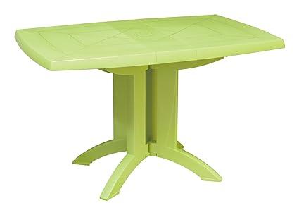 Image table de jardin couleur table basse relevable | Music ...