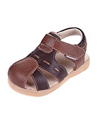 Tortor 1Bacha Baby Boys Girls Fashion Leather Fishman Sandals (Toddler)