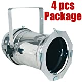4x PAR 64 STAGE THEATRE CHURCH BULB LIGHTING PAR 64 CAN