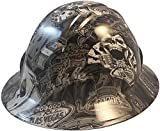 Texas America Safety Company Hydro Dipped Full Brim Style Hard Hat - Vegas Baby
