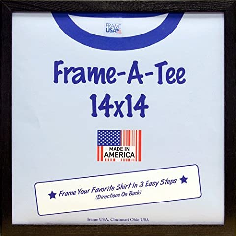 T-Shirt Frame (Black, 14x14)