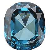 0.38 Ct Natural Loose Diamond Cut Oval Shape Blue Color 4.65X4.00X2.30 MM SI1 Clarity L1667
