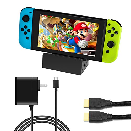 J&TOP Portable Dock Set for Nintendo Switch