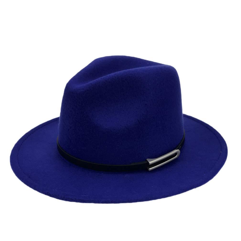 Wide Brim Autumn Trilby Caps Female Male Fashion Top Hat Jazz Cap