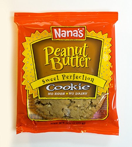 Nana's Peanut Butter Cookies, 3.2-Ounce Packages (Pack of 12)