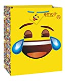 Set of 2 Unique Large Emoji Gift Bag bundled by Maven Gifts