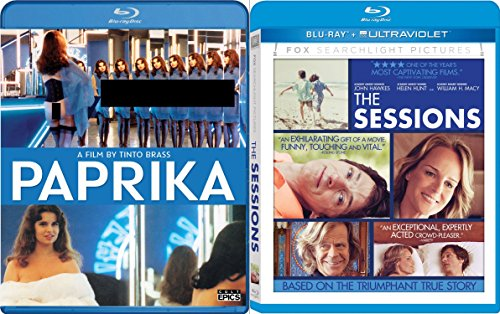 The Sessions & Paprika Blu Ray Sexy Drama - Short Hills Macy's