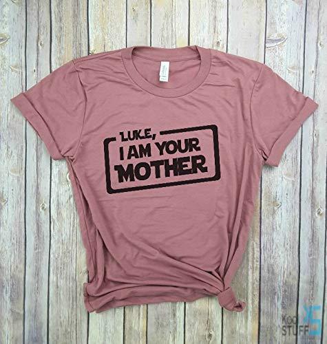 459fc6415 Amazon.com: Luke I am your Mother, Funny Star Wars shirt, Trendy Mom ...