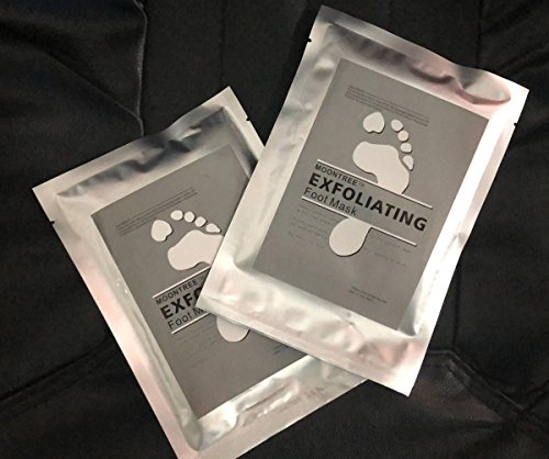 Dermapeel Exfoliating Foot Peeling Mask Feet Peel Mask Sheds Skin Calluses Feet-2Pair-4pcs by Dermapeel (Image #1)