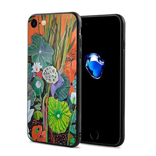 Flower Lotus Floral PrintPhoneCaseforiPhone7/8