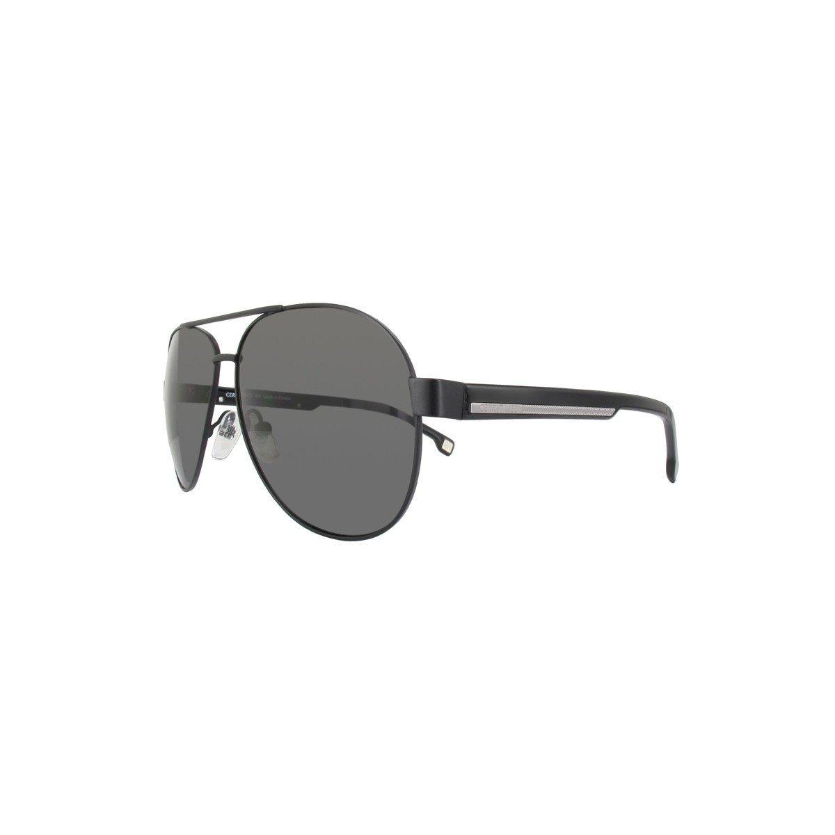 502eb270a94c Cerruti 1881 CE 8061 00 Black / Brown Men Aviator Sunglasses CE806100:  Amazon.co.uk: Clothing