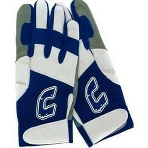Combat Ultra-Dry Mesh Adult Batting Gloves, Navy/White, Small