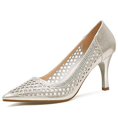 Chaussures Les EU35 L'Ol De Sandales Exposés Travail Talon Pointe UK112 De De SHOESHAOGE Chaussures La WvYq8OO
