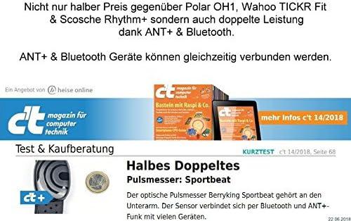 BerryKing Sportbeat Bluetooth & ANT+ para Garmin Polar Wahoo ...