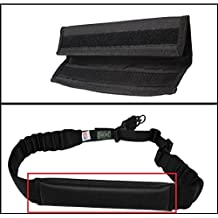 Ultimate Arms Gear Black Sling Mount Strap Shoulder Comfort Pad Padded For ATI German Sports Gun GSG5 GSG-5 MP5 Savage Axis 99