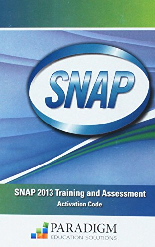 Snap 2013 Training & Assessment Activation Code