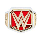 WWE Authentic Wear RAW Women's Championship Toy Title Belt Gold