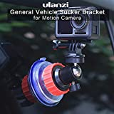 Ocamo Action Camera Sucker Holder Car Holder Mount Glass Suction Cup Bracket for GoPro DJI Osmo Action