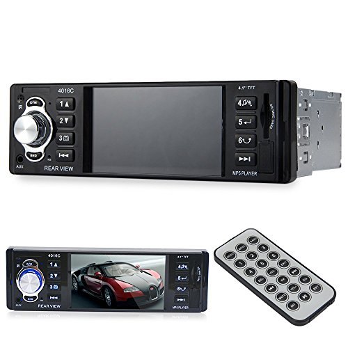 Autolover  4 1 Inch 64Gb Embedded Hd Digital Car Mp5 Player Fm Radio With Usb Sd Aux Ports Lcd Display