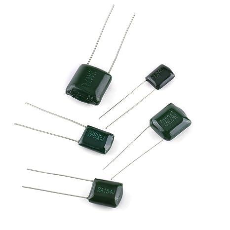 470nF 660pcs 24Value Polyester Folienkondensator Film Kondensatoren Set 0,22nF
