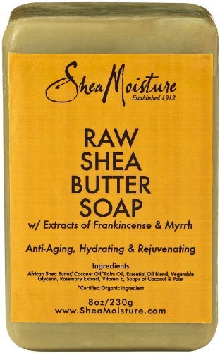 Shea Moisture Raw Shea Butter Bar Soap-8 oz
