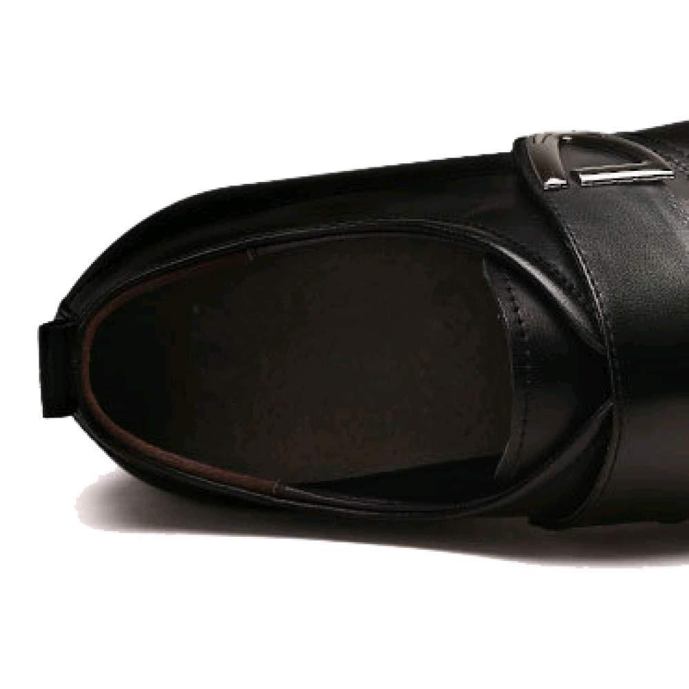 ZPEDY Männer Herrenschuhe Lederschuhe Männergeschäft Lederschuhe Männer ZPEDY Formelle Kleidung Einzelne Schuhe Komfortabel und Stilvoll schwarz 7a1a16