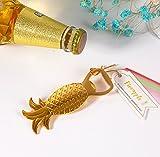 Gold Pineapple Bottle Opener For Wedding Favor & Baby Shower Favor, Set of 96