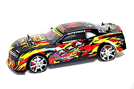 Velocity Toys Camaro SS Electric RC Drift Car 1:10 Graffiti 4WD RTR Remote Controlled Cars & Trucks at amazon