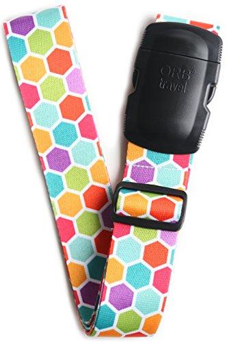 ORB Travel Premium Designer Luggage Strap -LS303-Multi-Colou
