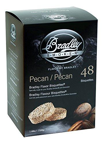 bradley smoker bisquettes pecan - 1