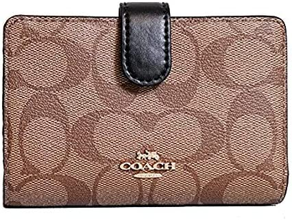 Coach Women's Corner Zip Leather Wallet