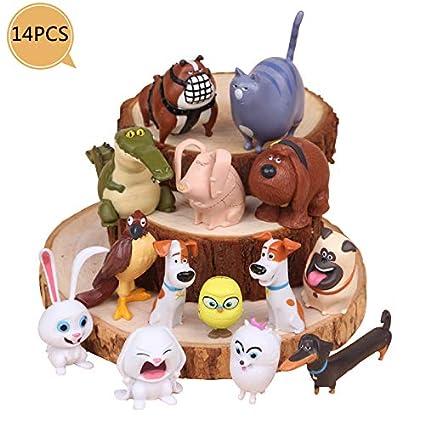 Amazon.com: Decoración para tarta de anime de dibujos ...