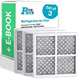 Refrigerator Air Filter Replacements - Pack of 3 Filters for LG and Kenmore