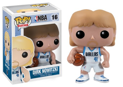 Funko POP NBA Series 2 Dirk Nowitzk Vinyl Figure by FunKo