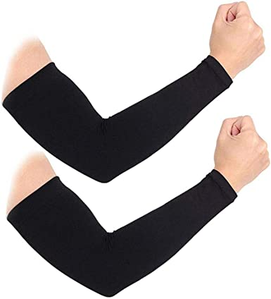 Elastic Athletic Arm Sleeve Outdoor Sports Arm Cooling Cover UV Sun Protection