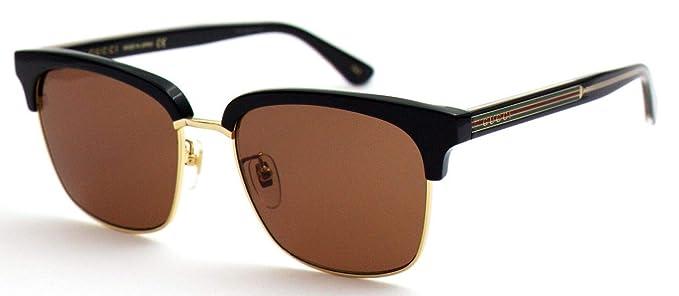 Amazon.com: Gucci GG 0382S 002 - Gafas de sol cuadradas ...